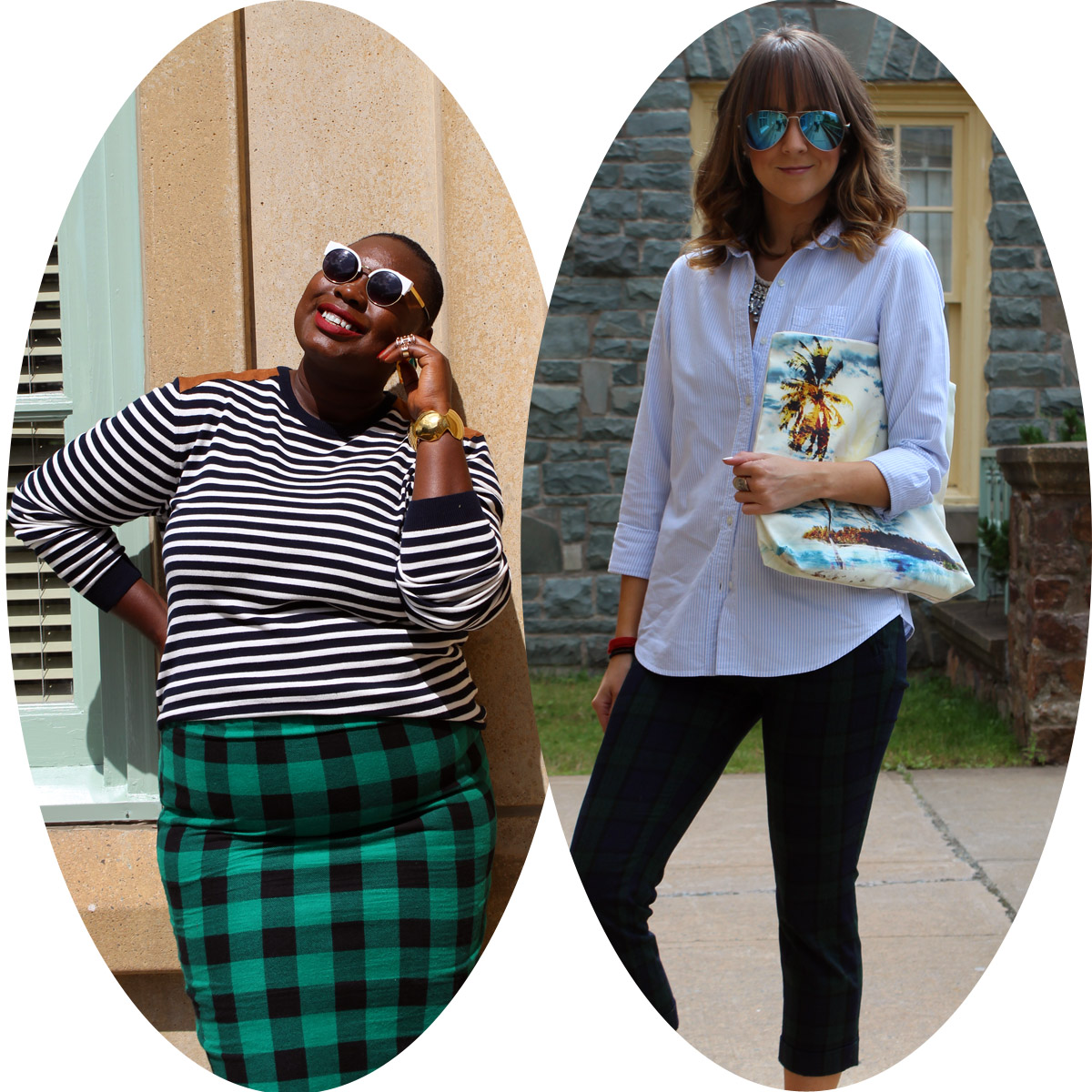 style twins plaid and stripes 11