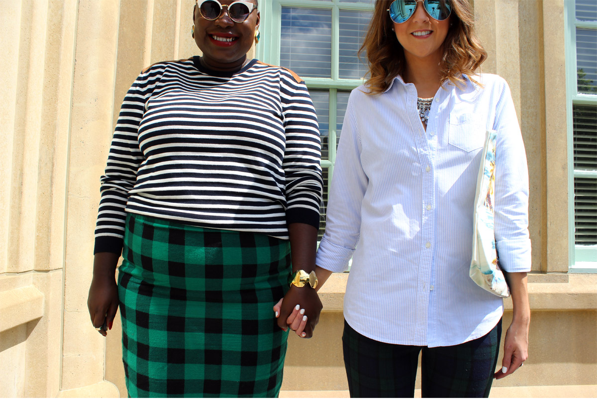 style twins plaid and stripes 14