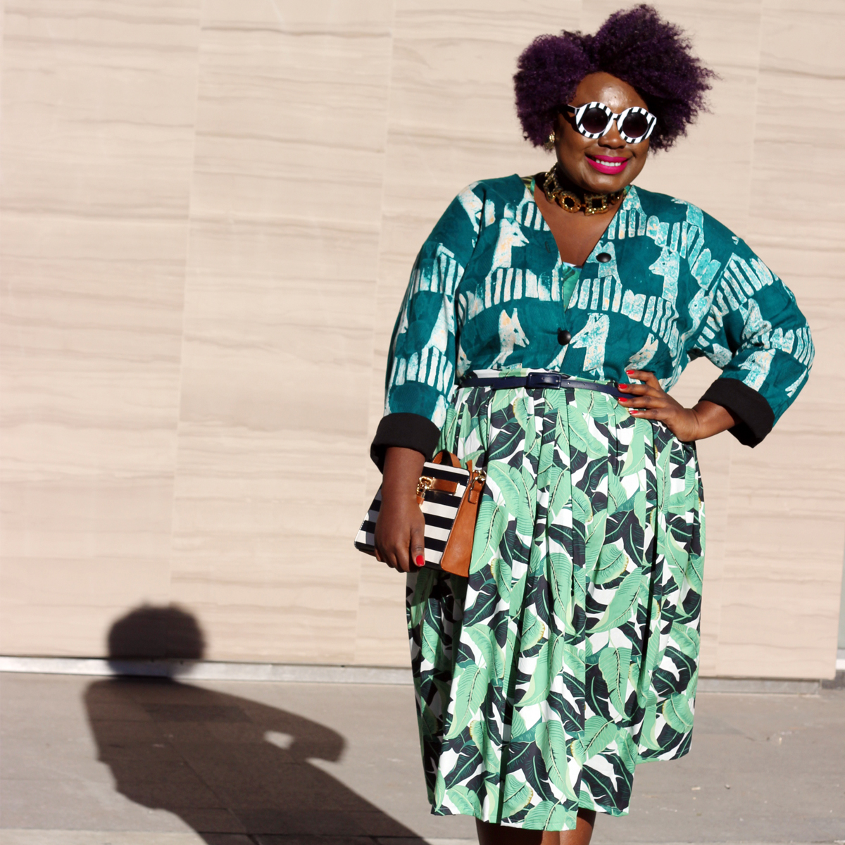 plus size style fashion week outfit fashion week street style 06