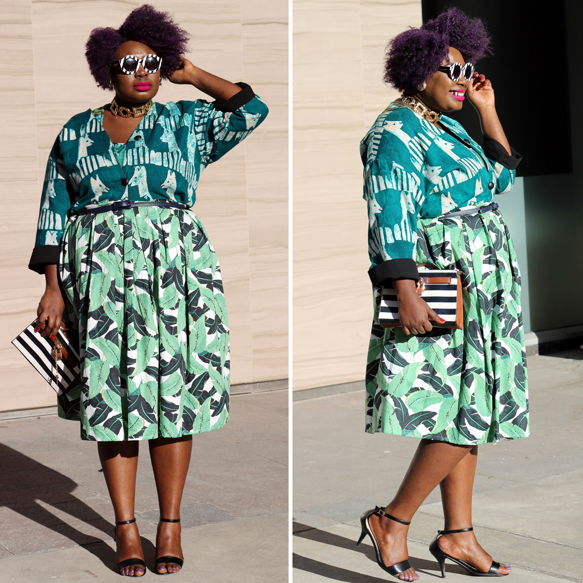 plus size style fashion week outfit fashion week street style 09