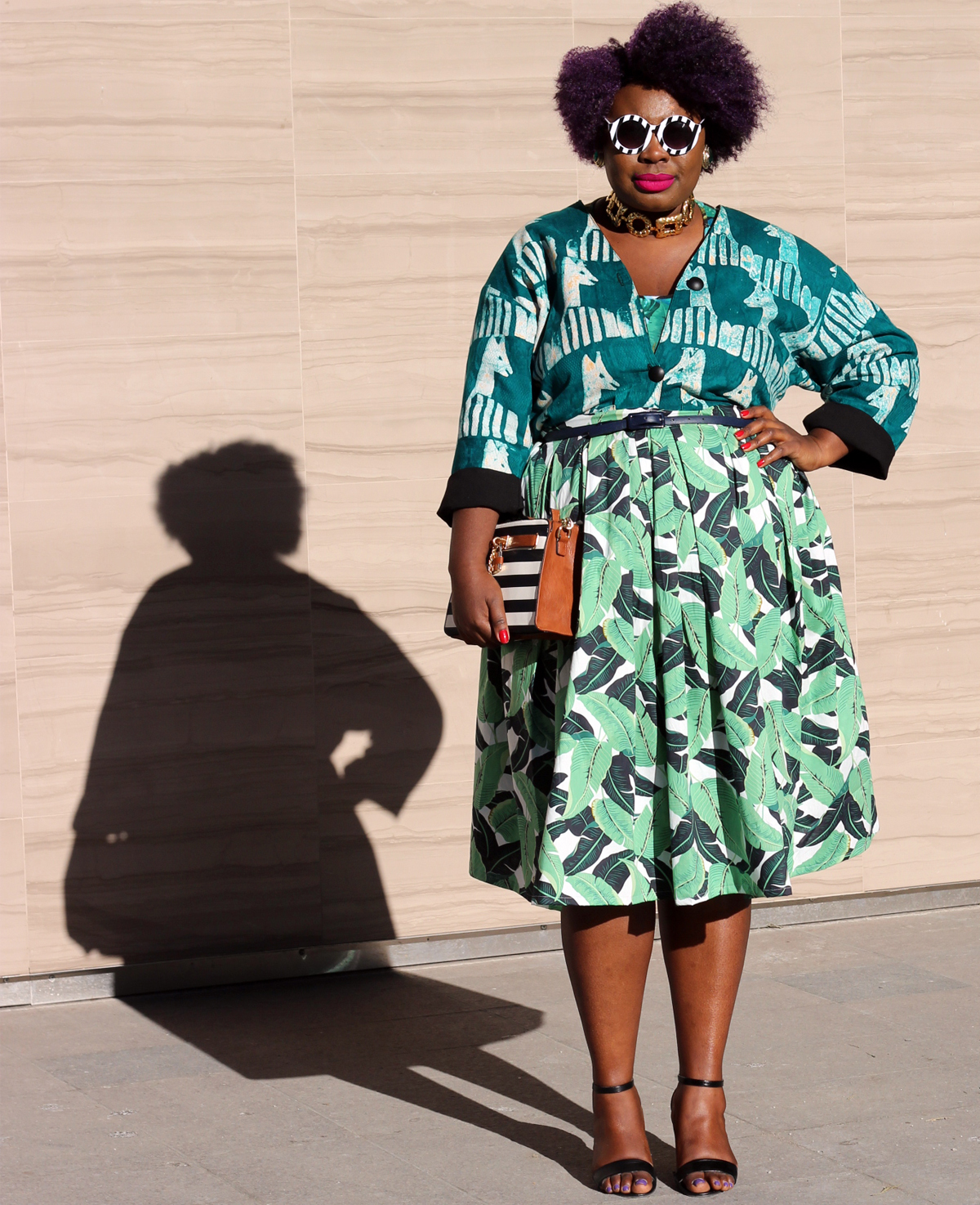 plus size style fashion week outfit fashion week street style 10