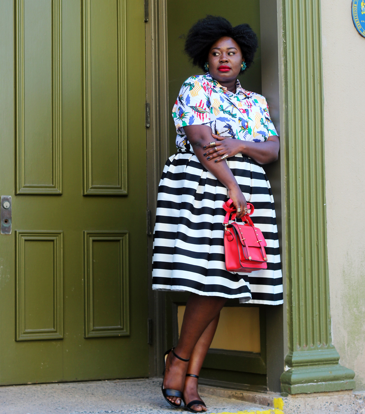 plus size horizontal stripes 10