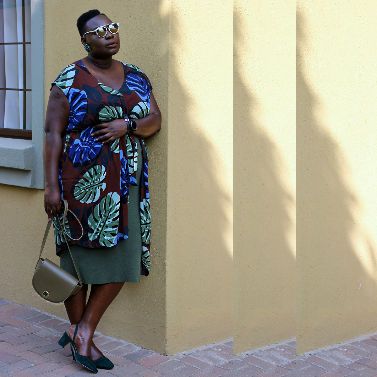 south africa fashion week outfit, plus size yellow dress, eloquii yellow dress, plus size fashion week streetstyle 05